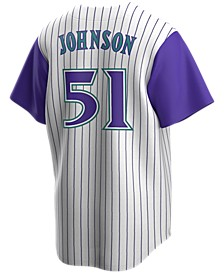 Men's Randy Johnson Arizona Diamondbacks Coop Player Replica Jersey