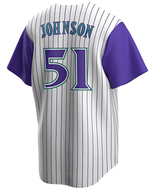 Nike Men's Randy Johnson Arizona Diamondbacks Coop Player Replica Jersey