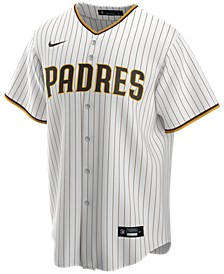 Men's San Diego Padres Official Blank Replica Jersey