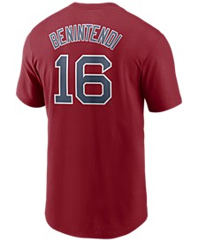 Men's Andrew Benintendi Boston Red Sox Name and Number Player T-Shirt