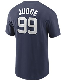 Men's Aaron Judge New York Yankees Name and Number Player T-Shirt
