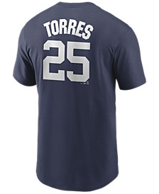 Men's Gleyber Torres New York Yankees Name and Number Player T-Shirt