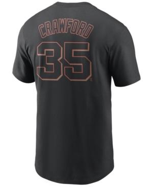 Nike Men's Brandon Crawford San Francisco Giants Name and Number Player T-Shirt