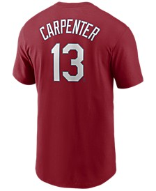 Men's Matt Carpenter St. Louis Cardinals Name and Number Player T-Shirt