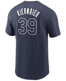 Men's Kevin Kiermaier Tampa Bay Rays Name and Number Player T-Shirt