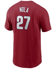 Men's Aaron Nola Philadelphia Phillies Name and Number Player T-Shirt