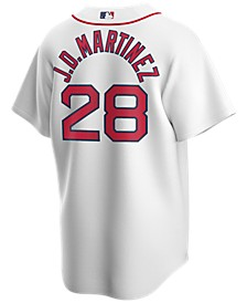 Men's J.D. Martinez Boston Red Sox Official Player Replica Jersey