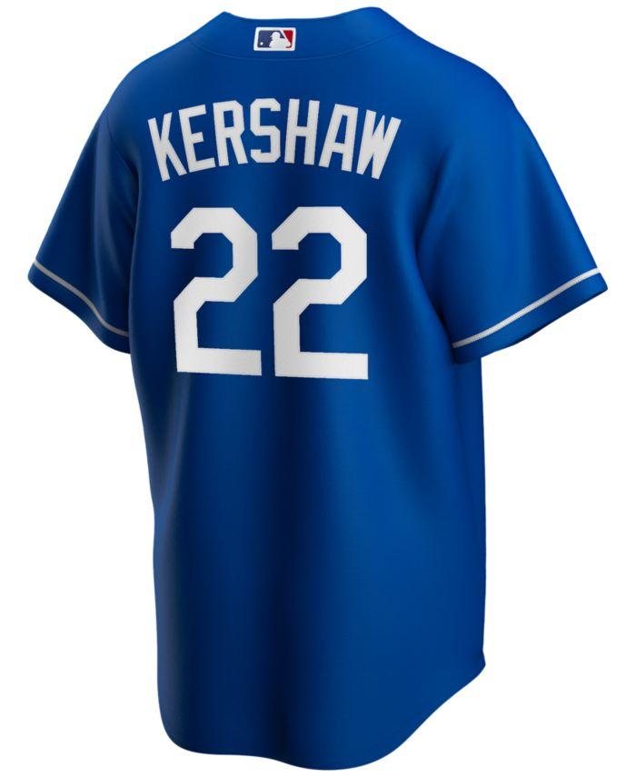Nike Men's Clayton Kershaw Los Angeles Dodgers Official Player Replica Jersey & Reviews - Sports Fan Shop By Lids - Men - Macy's