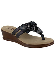 Tuscany by Easy Street Allegro Thong Sandals