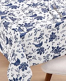 """CLOSEOUT! English Garden 60"""" x 102"""" Tablecloth"""