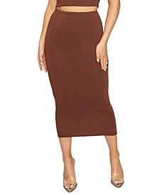 The NW Bae-Sic Midi Skirt
