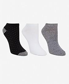Women's 3pk Mid-Weight Low Cut Socks, Online Only