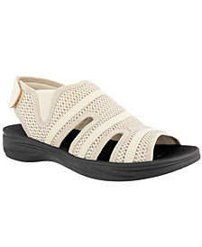So Lite by Easy Street  Happy Sandals