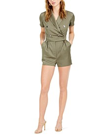 Double-Breasted Romper, Created for Macy's