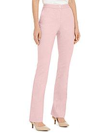 Alfani Hardware-Waist Trouser Pants, Created for Macy's