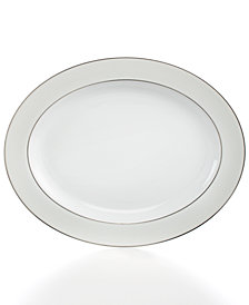 "Bernardaud Dinnerware, 13"" Dune Oval Platter"