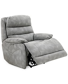 "Ferteno 39"" Fabric Dual Power Recliner"