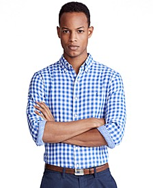 Men's Classic-Fit Gingham Shirt