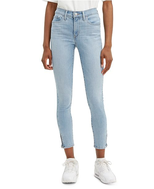 Levi's 311 Studded Ankle-Zip Shaping Skinny Jeans