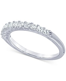 Diamond Princess Band (1/2 ct. t.w.) in 14k White Gold