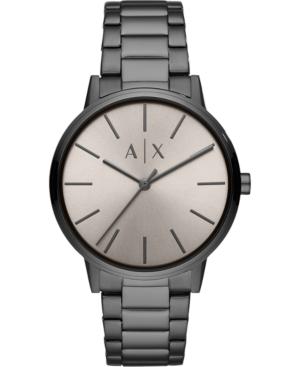 Men's Cayde Gunmetal Stainless Steel Bracelet Watch 42mm