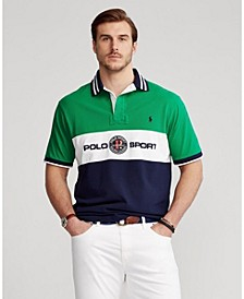 Men's Big & Tall Classic-Fit Mesh Polo Shirt