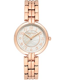 Women's Rose Gold-Tone Bracelet Watch 32mm