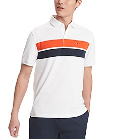 Men's Paul Stripe Polo Shirt, Created for Macy's