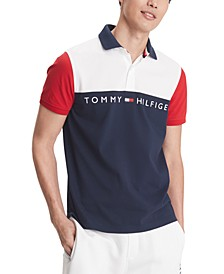 Men's Turner Logo Graphic Polo, Created for Macy's