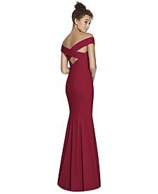 Off-The-Shoulder Maxi Dress