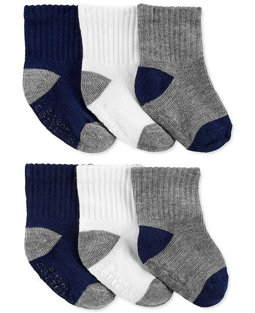 Carter's Toddler Boys 6-Pk. Crew Socks