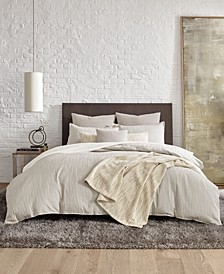 Lawrence Beige King Duvet Cover Set