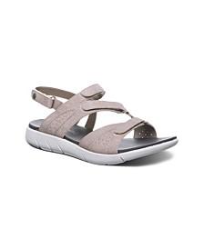 Women's Reed Flat Sandals