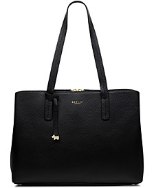 dukes place large open top workbag