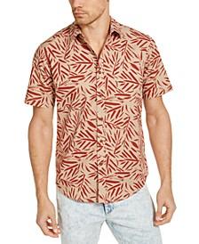 Men's Tropical Print Short Sleeve Shirt, Created for Macy's
