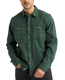 Men's Mason Regular-Fit Stretch Work Shirt