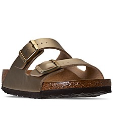 Women's Arizona Birko-Flor Soft Footbed Casual Sandals from Finish Line