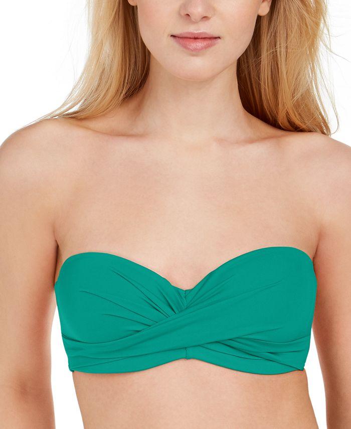 kate spade new york - Halter Bandeau Underwire Bikini Top