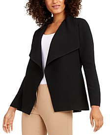 Draped Jacquard Jacket, Created for Macy's