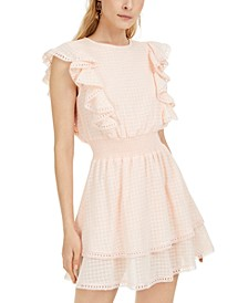 Ruffled Fit & Flare Dress