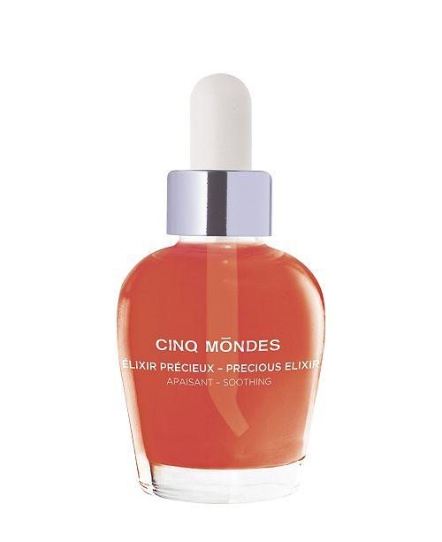 Cinq Mondes Precious Elixir Soothing Serum for Face, 0.33 fl oz