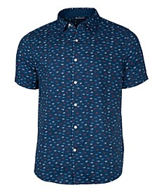 Men's Windward Daub Print Short Sleeve Shirt