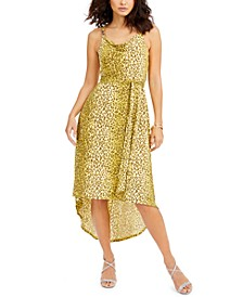 High-Low Belted Dress, Created for Macy's
