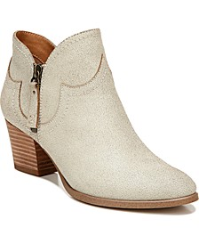 Kaylin Western Ankle Booties
