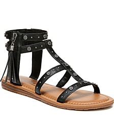 Yvon Studded Gladiator Sandals