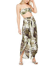Jungle Moon Printed Tulip-Hem Pants, Created for Macy's