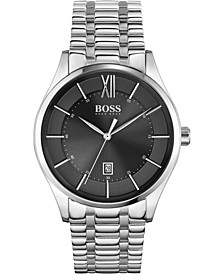 Men's Distinction Stainless Steel Bracelet Watch 42mm