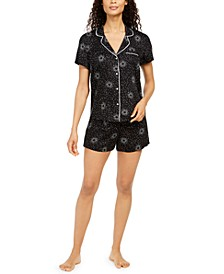 Women's Ultra-Soft Pajama Shorts Set, Created for Macy's