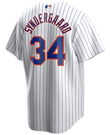 Men's Noah Syndergaard New York Mets Official Player Replica Jersey