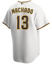 Men's Manny Machado San Diego Padres Official Player Replica Jersey